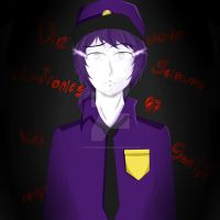 [PURPLE GUY] Five Nights At Freddy's by YukariMegpoid
