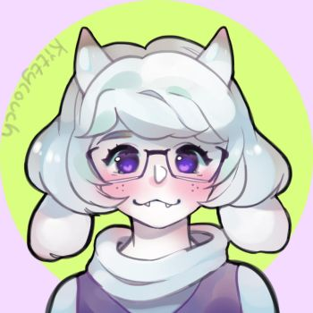 Toriel Icon by KittyCouch