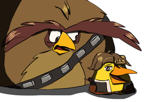 Anime Terebacca and Chuck Solo by GreenWingSpino32