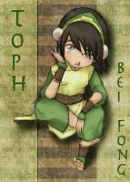 Tiny Bored Toph by suzannedcapleton