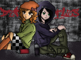 Angel and Malachi Urban Punk by Gabby413