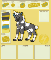 Zeus - Application for Poke-Paws by Cocohorse