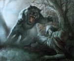 Hungry Wolf by boscopenciller