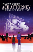 Ace Attorney/Evangelion - The End of Prosecution by MereldenWinter