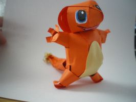 Charmander Papercraft by melpk