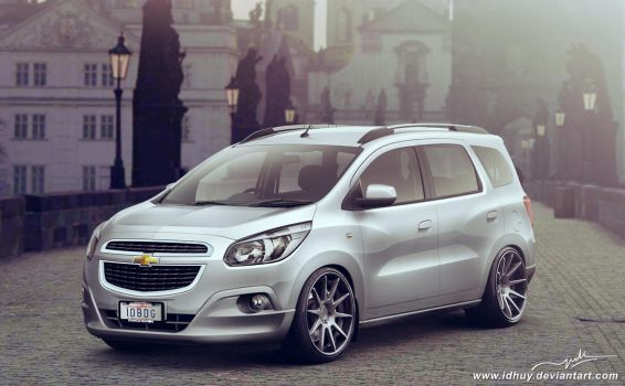 Chevrolet Spin Family Man Stance by idhuy