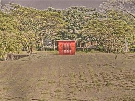 Concrete Barn - HDR by shanahben