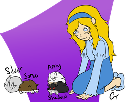 Maria and the Hedgehogs by Siinnack