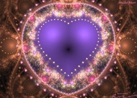 Jeweled Heart by one-tough-one