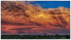 Sunset in Frankfurt (HDR-Fake) by RSFFM