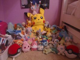 Crazy Pokemon Plush Obsession by luvHarryStyles