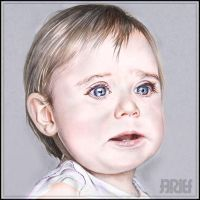 Baby Color Drawing by riefra
