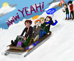 Bobsled On, Boys! by JaiRT