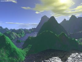 green_mountains by equilibrium3e