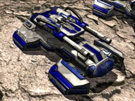 Quad Tank02 - RTS Unit by DXBigD