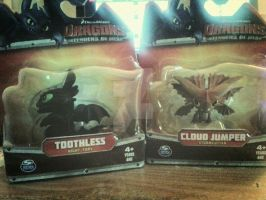 Yay! New HTTYD Babies! Cloud Jumper and Toothless! by AlexusArt-is-back