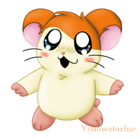 Hamtaro by YellowstarInc