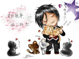 KS: That Butler Loves Cats-- by coolgirlmada434