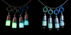 Mobius Hanging Glow Vials - For Sale by Ichi-Black