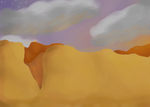 Canyon background by Piidge