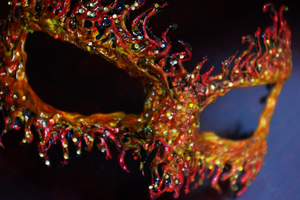 Fire Masquerade by KlairedeLys