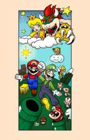 Mario-To the Skies by mosobot64