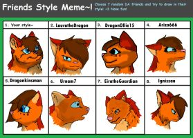 Friend's styles meme by ElusiveBlaze