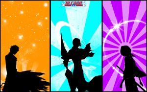Bleach Wallpaper by gangsterg
