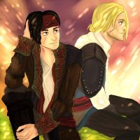 Kenway and Kidd (Read) by Elisabethianna