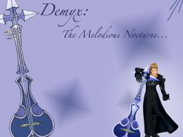 .:Demyx - Wallpaper:. by ChamelyBanded