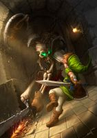 Link Dungeon by edgarsh422