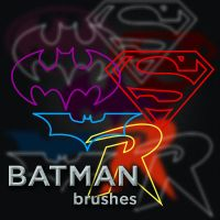 14 Batman Brushes by Creativinity