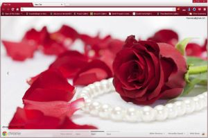 Red Rose Theme by vrkm2003
