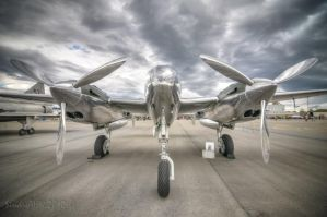 Red Bull P-38L by SindreAHN