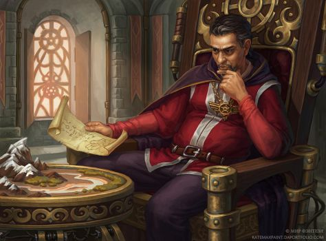 Grand Master by KateMaxpaint