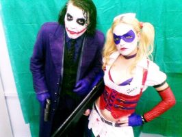 Joker and Harley by Mattdelarge