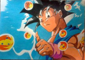 SON GOKU by powre