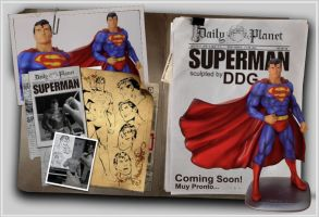 Superman Comic version statue by ddgcom