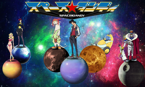 Space Dandy by Awesomeness360
