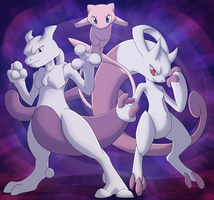 Pokemon: Mew Trio? by Lifefantasyx