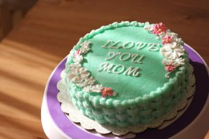 Mother's Day cake by Vaniraa