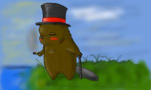 Beaver by Gromitzy