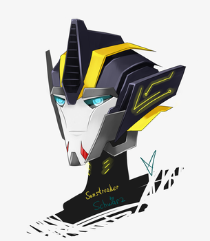 TFP Sunstreaker (head design) by Schwarz-one