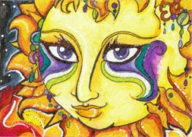 Festival Sol (ACEO) by Keyshe54