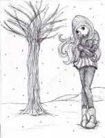 lonely winter by Explodifirer