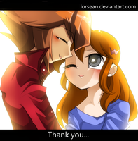 Thank you... by LorSean