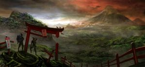 epic mt fuji by janjinator