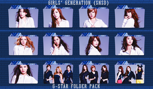 Girls' Generation (SNSD) ~G-Star Folder Pack~ by FolderOvert