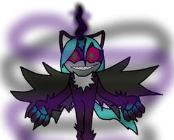 Malice the dark entity fused changeling. (TEOC) by TJ0001