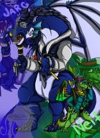Da Blu and Green Cru by Jargon1993